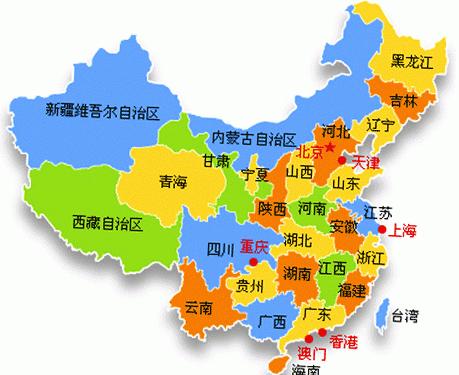 中国地图高清版大图2019(百度地图)